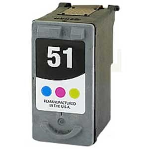 Canon CL-51 reman color inkjet ctg.