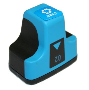 Hewlett Packard C8771WN #02 Cyan Inkjet Cartridge
