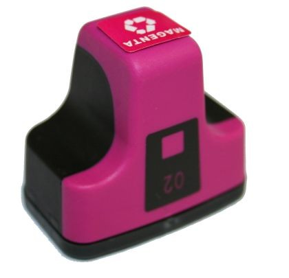 Hewlett Packard C8772WN #02 Magenta Inkjet Cartridge