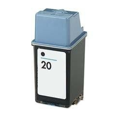 Hewlett Packard C6614A #20 Black Inkjet Cartridge