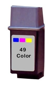 Hewlett Packard 51649A  #49 Color Inkjet Cartridge