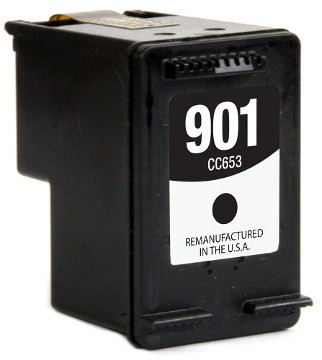 Hewlett Packard CC653AN #901 Black Inkjet Cartridge