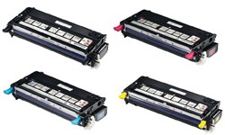 Lexmark X560H2KG, X560H2CG, X560H2MG, X560H2YG Color Laser Toner Cartridge Bundle