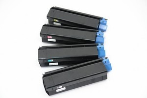 OkidataC-3100,C3200 Type C6 Color Toner Cartridge Bundle