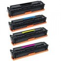HP CE410A, CE411A, CE413A, CE412A (305A) Color Laser Pro Toner Cartridge Bundle