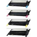 Samsung CLP-310,315, CLX-3170,3175 Color Toner Cartridge Bundle